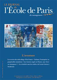 Couverture Journal de L'École de Paris du management N°63