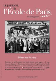 Couverture Journal de L'École de Paris du management N°89