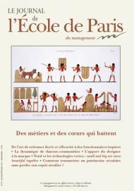 Couverture Journal de L'École de Paris du management N°93