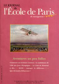 Couverture Journal de L'École de Paris du management N°46