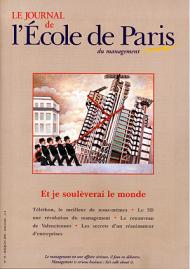Couverture Journal de L'École de Paris du management N°53