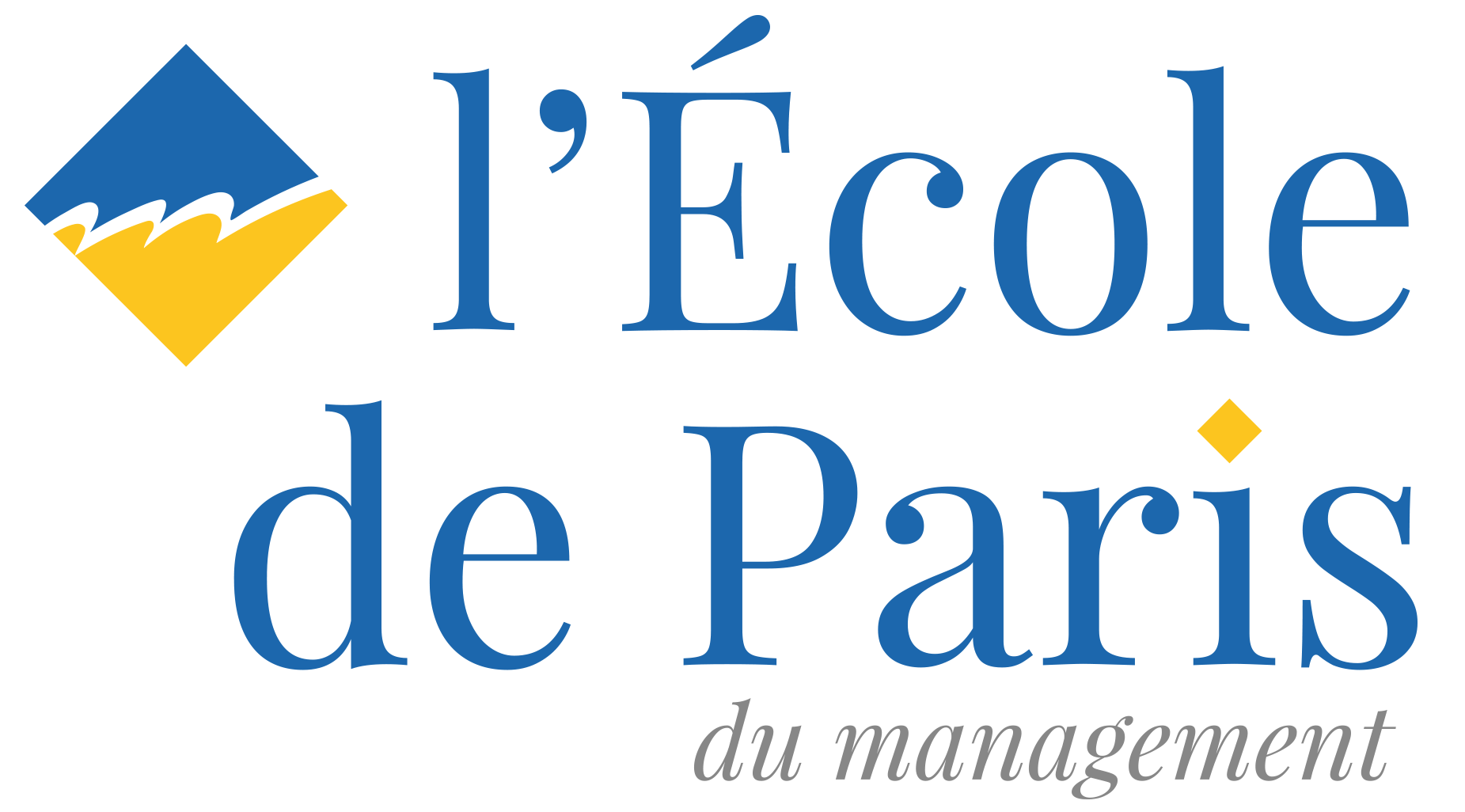 Logo de l'École de Paris du management